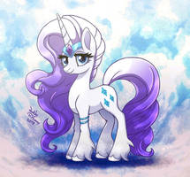 <b>MLP FIM - Beautiful Lady Rarity G5</b><br><i>Joakaha</i>