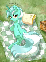 <b>MLP FIM - Lyra Heartstring Chilling In The Grass</b><br><i>Joakaha</i>