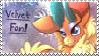 Them's Fightin' Herds - Velvet Fan Stamp by Joakaha