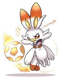 Pokemon Gen 8 - Scorbunny by Joakaha