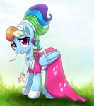 MLP FIM - Fancy Rainbow Dash by Joakaha