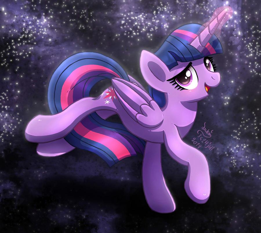 mlp_fim___twilight_sparkle_magic_night_s
