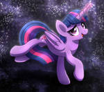 MLP FIM - Twilight Sparkle Magic Night Sky
