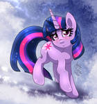 MLP FIM - Twilight Sparkle In The Snow