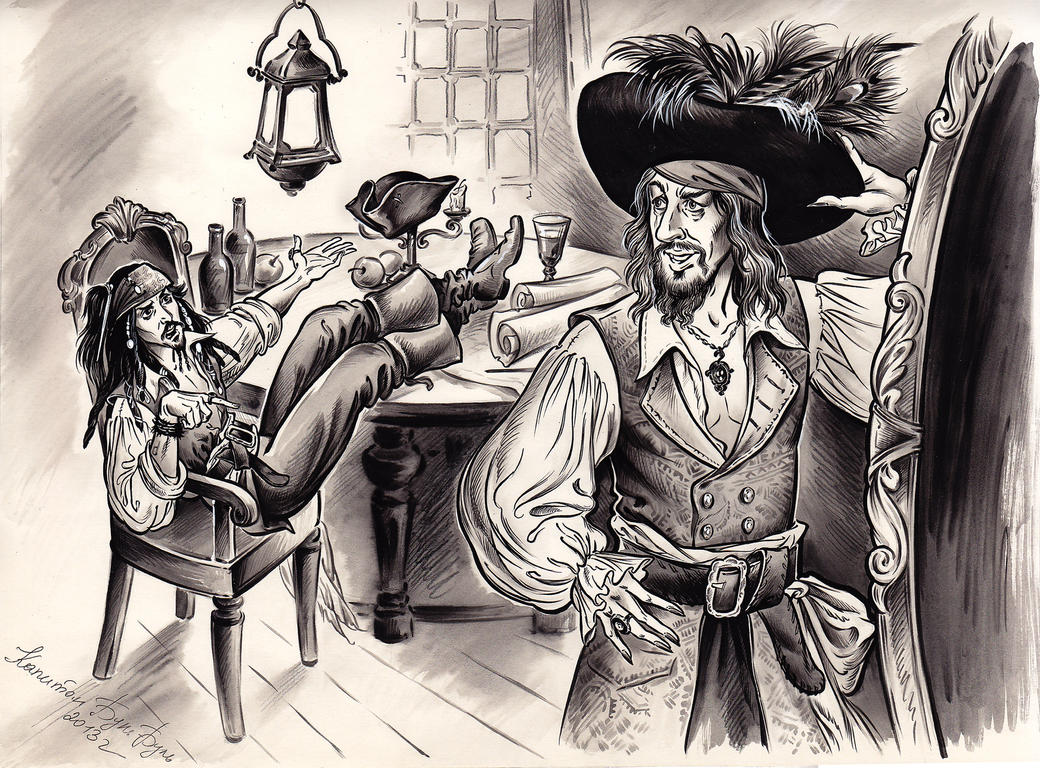 Hector Barbossa new hat by Bormoglot