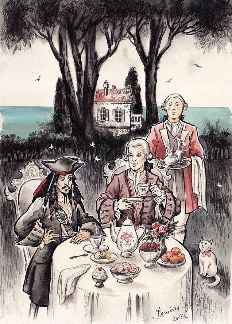 Lord Becketts Tea by Bormoglot