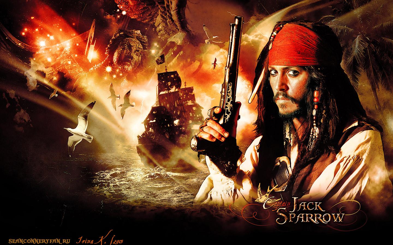 Captain Jack Sparrow Wallpaper by Bormoglot on DeviantArt