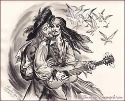 Pirate rock. by Bormoglot