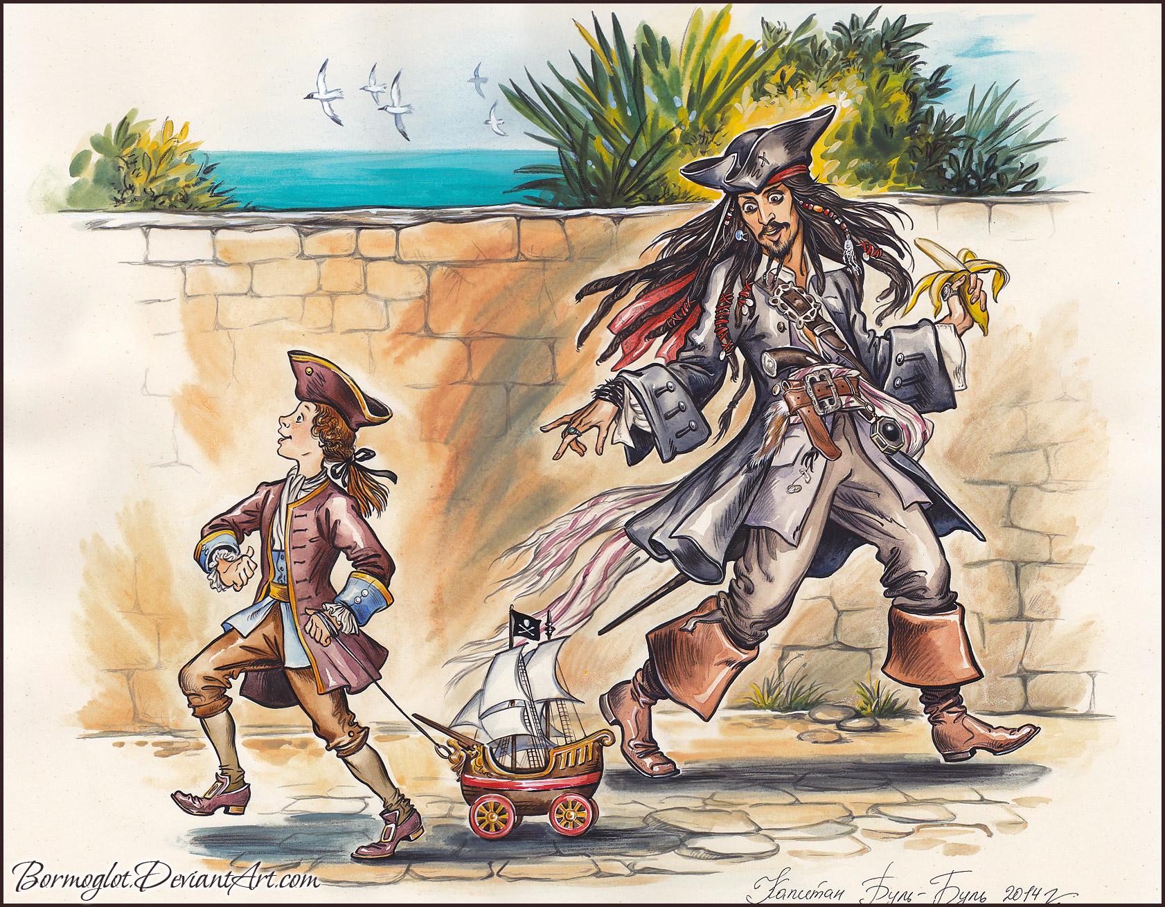 Пираты Карибского моря Проклятие черной жемчужины 2003