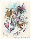 Pirate and  mermaid 3