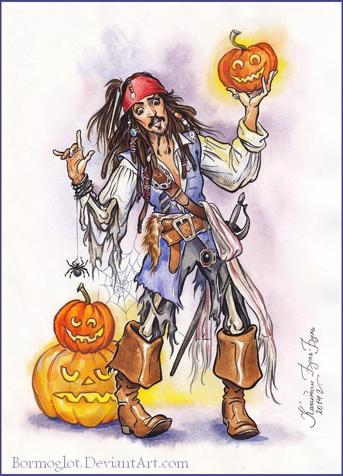 Happy Halloween by Bormoglot