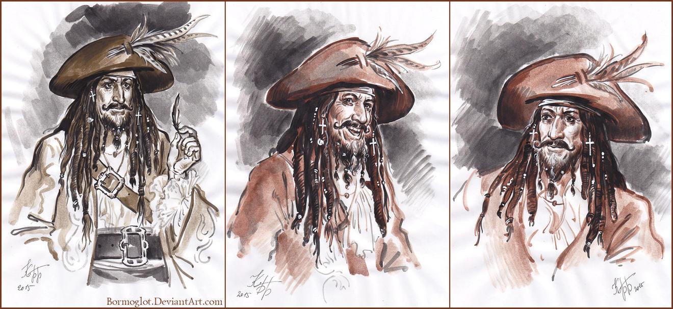 Captain Teague by Bormoglot