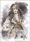 Captain Jack Sparrow. Sketch.