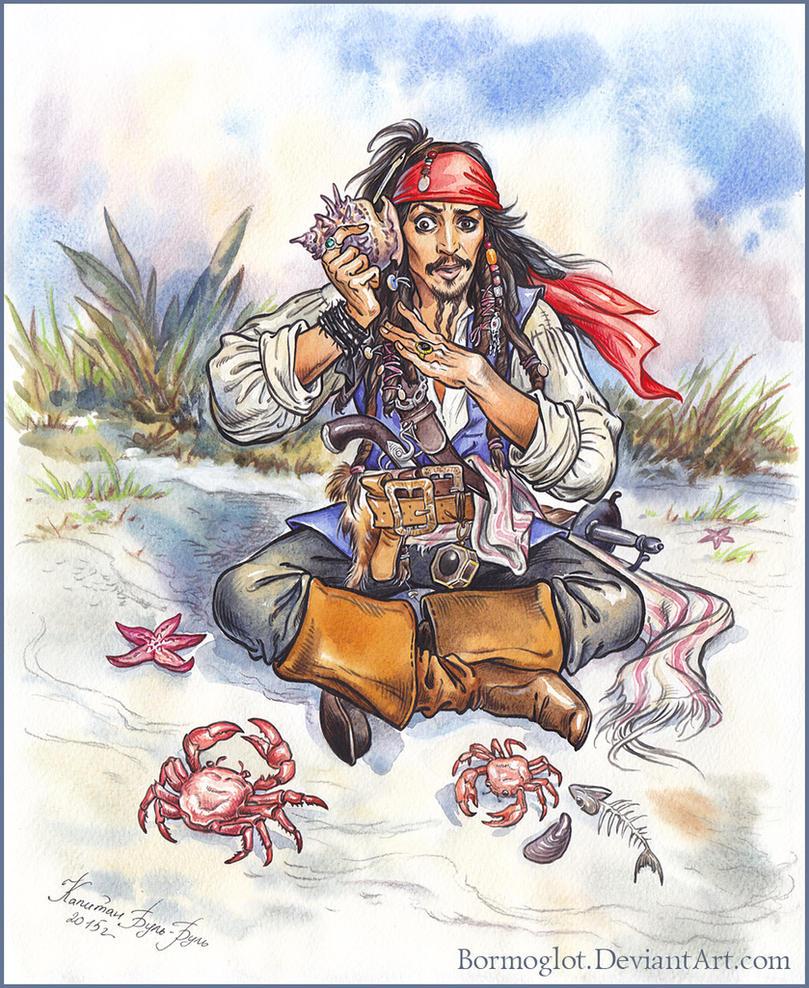Captain Jack Sparrow is always connected. by Bormoglot
