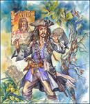 Captain, captain Jack Sparrow. by Bormoglot