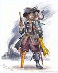 Captain Hector Barbossa.