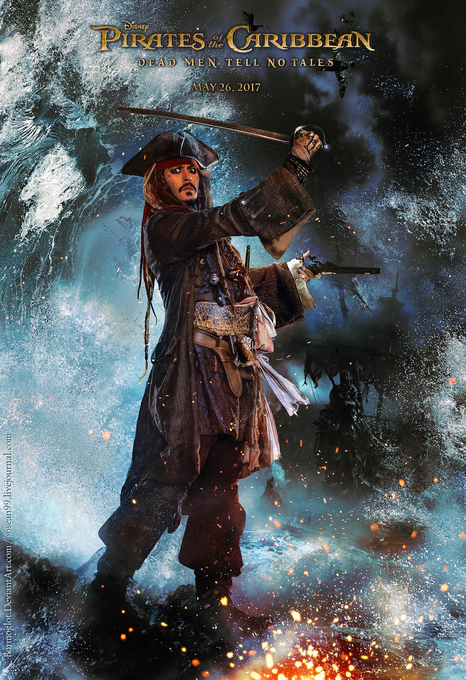 Новый трейлер фильма Пираты Карибского моря Мертвецы не
