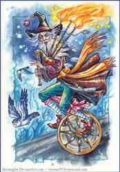 Scottish wizard. by Bormoglot