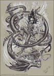 Captain Jack Sparrow and fantastic beasts. by Bormoglot