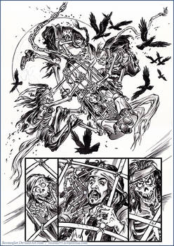 One story about Captain Jack Sparrow. Comic book 2
