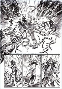 One story about Captain Jack Sparrow. Comic book 5