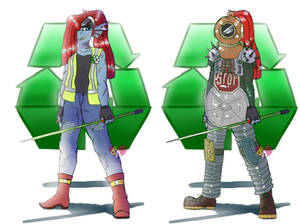 RecycleTale Undyne [Dont take this seriously plz]