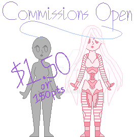 [Commissions Open] Pixel Style #07 by Evelin333
