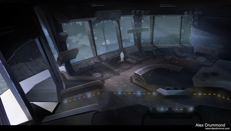 Command center interior 3 by alexdrummo