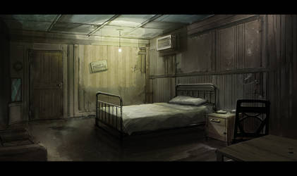 Horror and scifi Environment concepts.