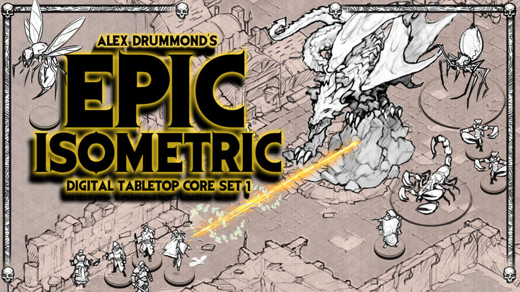 The Epic Isometric art set is live by alexdrummo