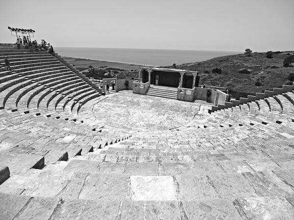 Theatre at Ancient Kourion by alimuse