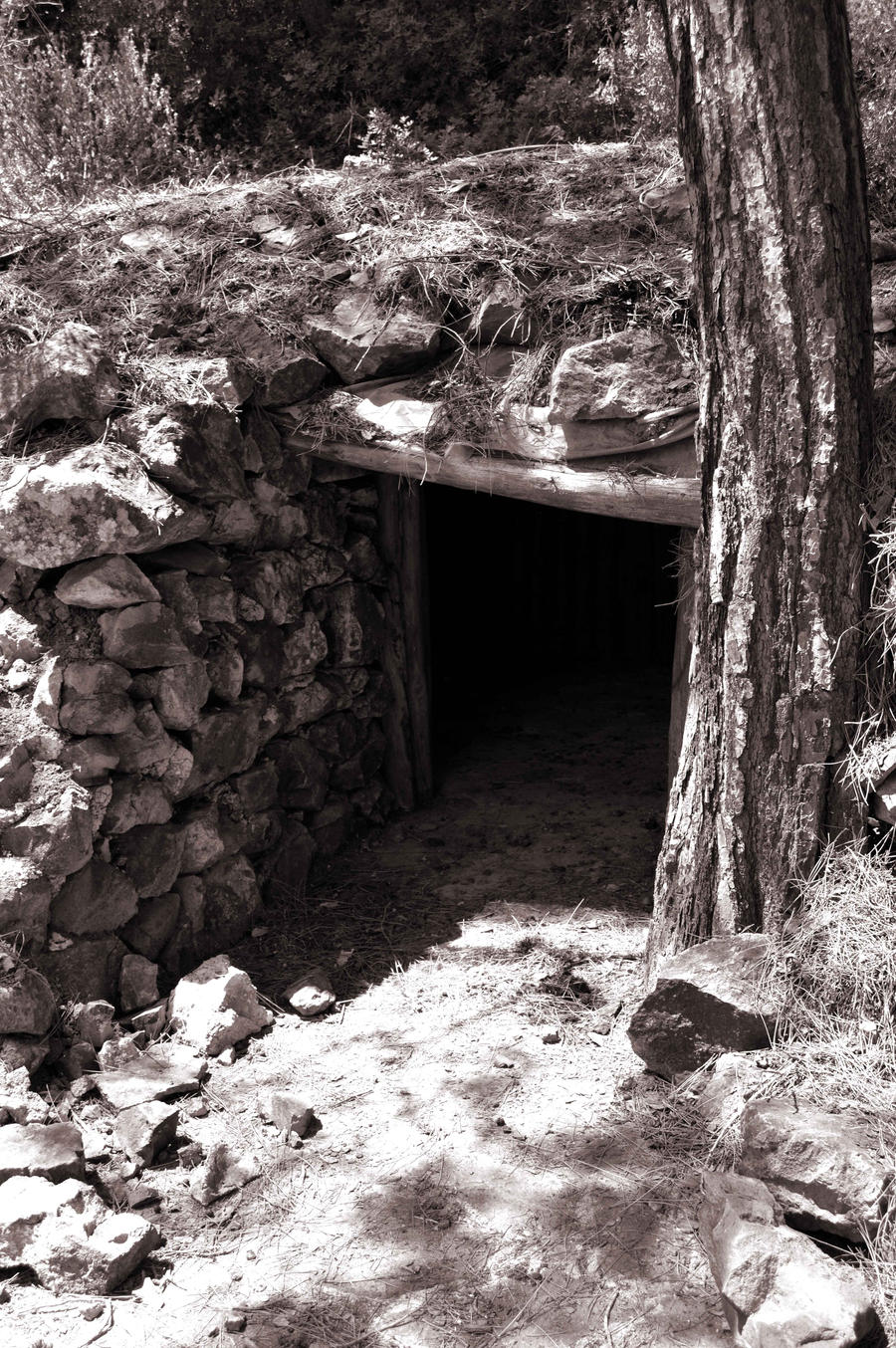 EOKA Hideout Cave by alimuse