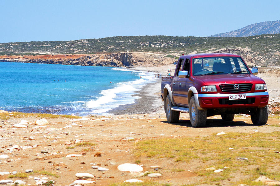Four-wheeling in the Akamas Peninsula by alimuse