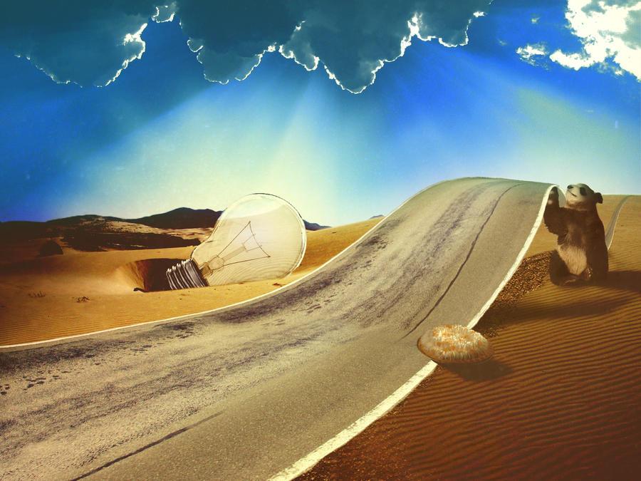 Nonsense in the desert by Funkiyo