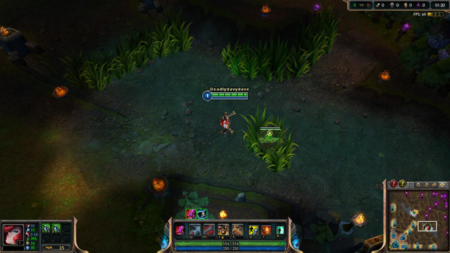 how to build miss fortune