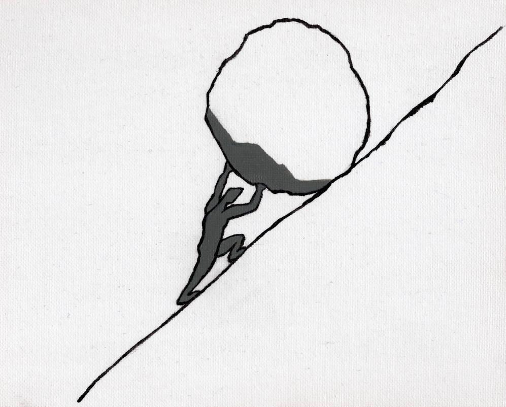 Sisyphus by Jordantt1