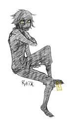 Raik by claudeekuru-chan