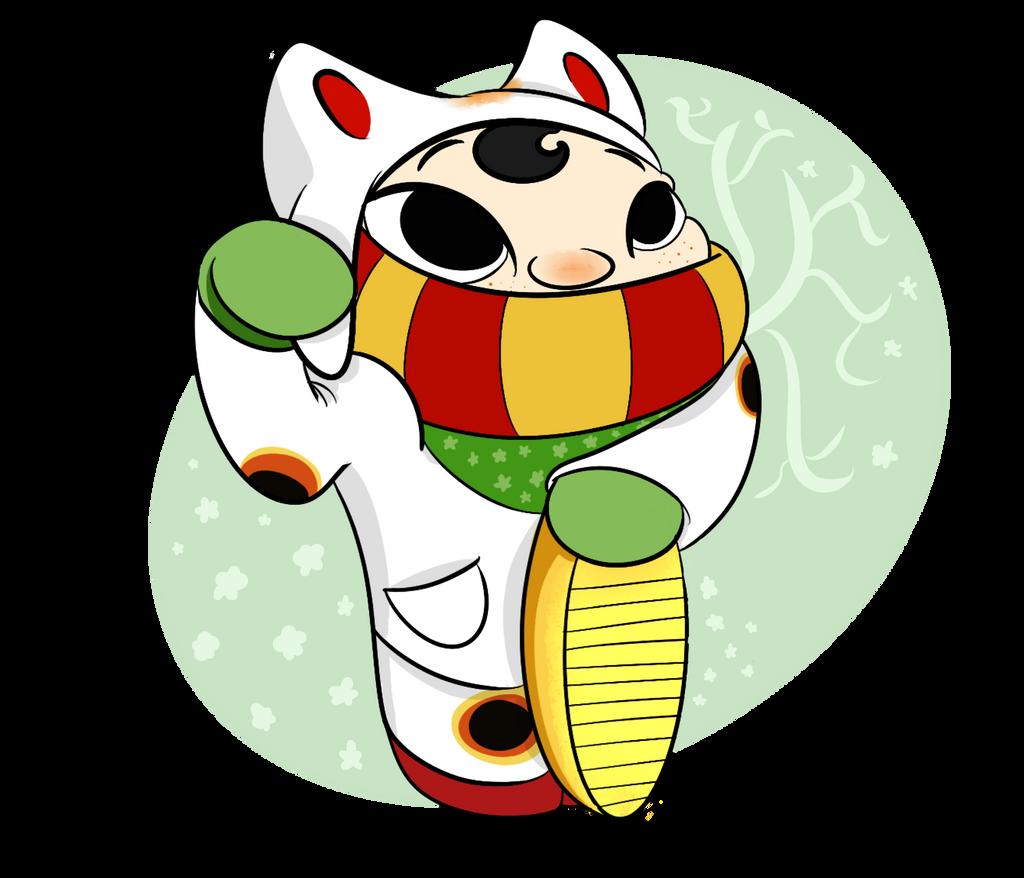 Burrito Challenge Day 4 Lucky Cat Boy By Veirareis On Deviantart