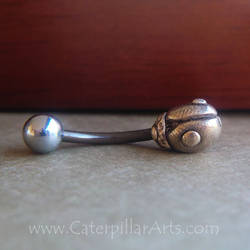 Ladybug Belly Ring