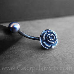 Rose Belly Ring