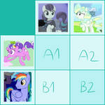 small breeding grid [2/4 open!] by flavoured-tea