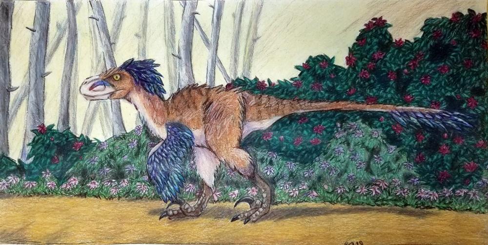Utahraptor by Bluecrest-Rubenaris
