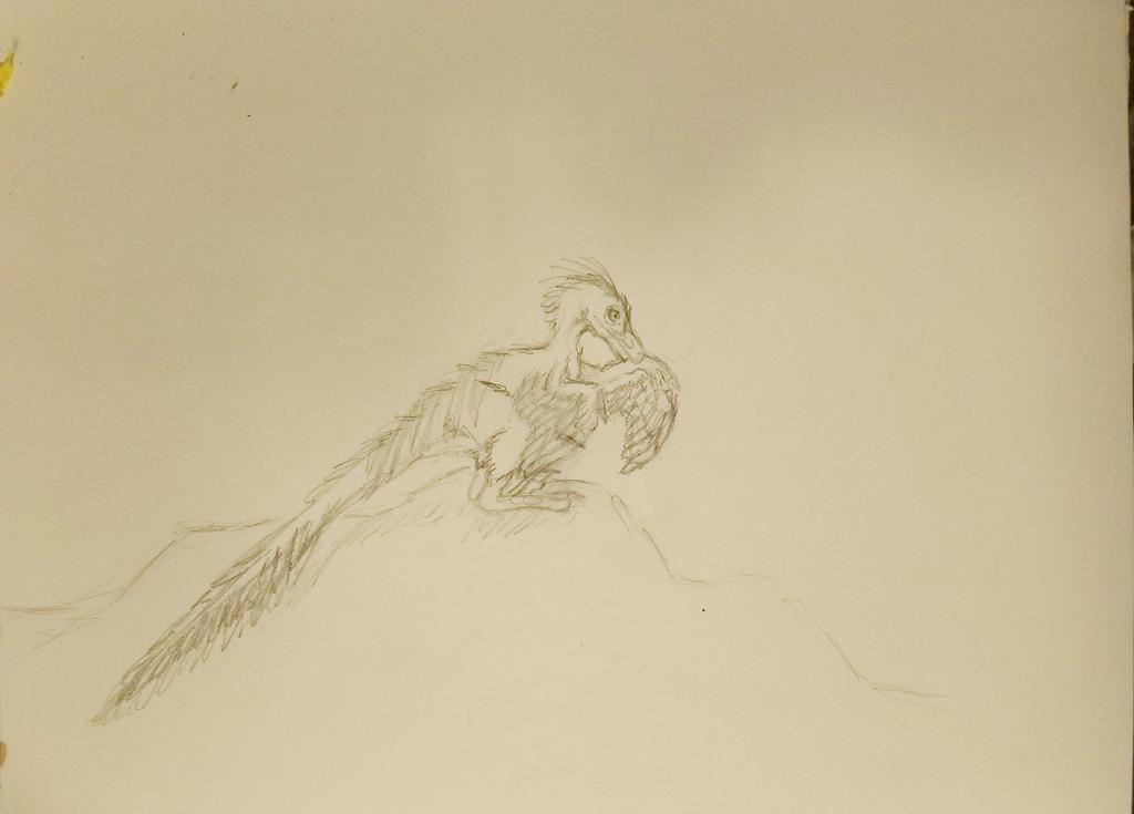 Velociraptor mongoliensis WIP by Bluecrest-Rubenaris
