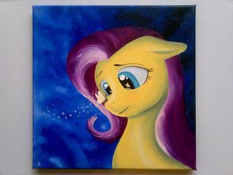Fluttershy's Spirit - Painting by flutterlinchen