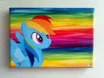 Collage Rainbow Dash die Zweite by flutterlinchen