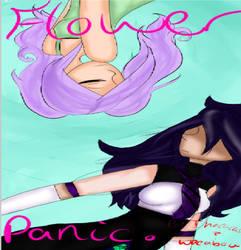 Flower Panic by ihazacat