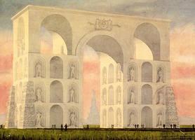 Arch of Heros by teslapunk