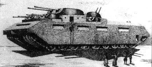 Bolshevik Tank by teslapunk
