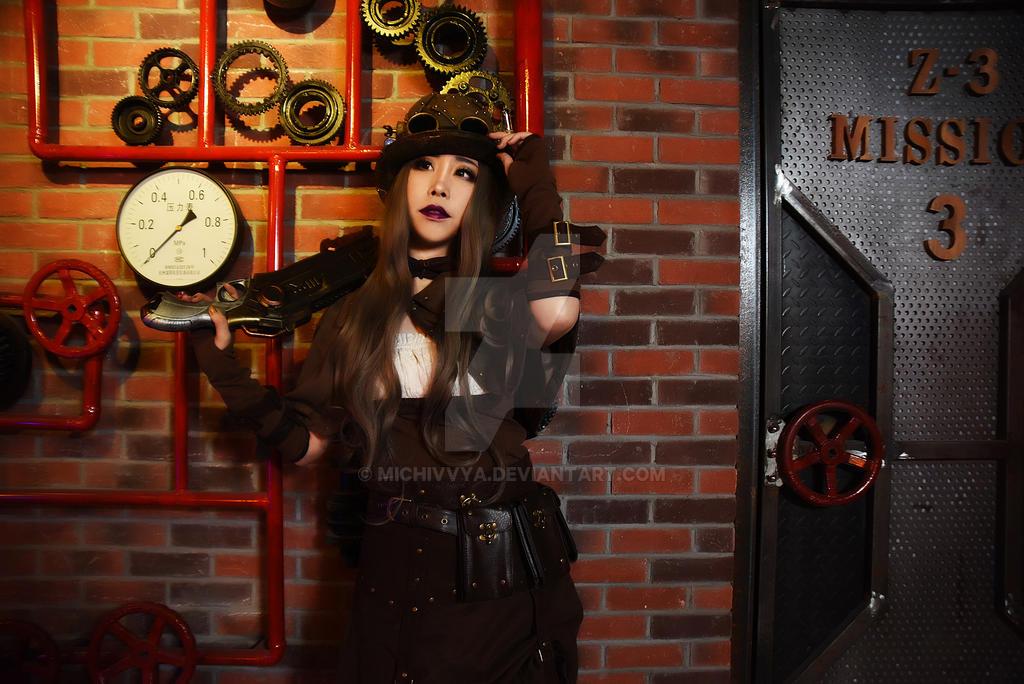 steam punk girl 2 by michivvya