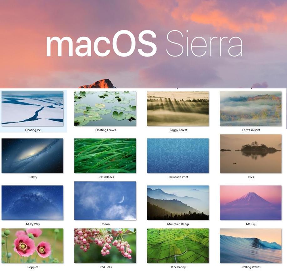 5k Os X Wallpaper: Mac OS Sierra Wallpaper Pack By Xmachinist On DeviantArt
